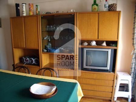 The dinning room at the apartment in Almagro